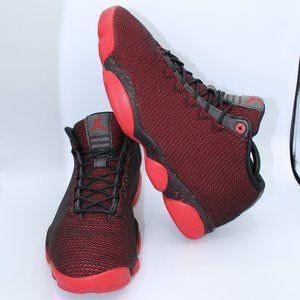 Jordan Horizons Low Black & Red Sneakers (Beaters)